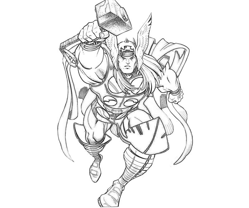 coloring pictures thor,printable,coloring pages