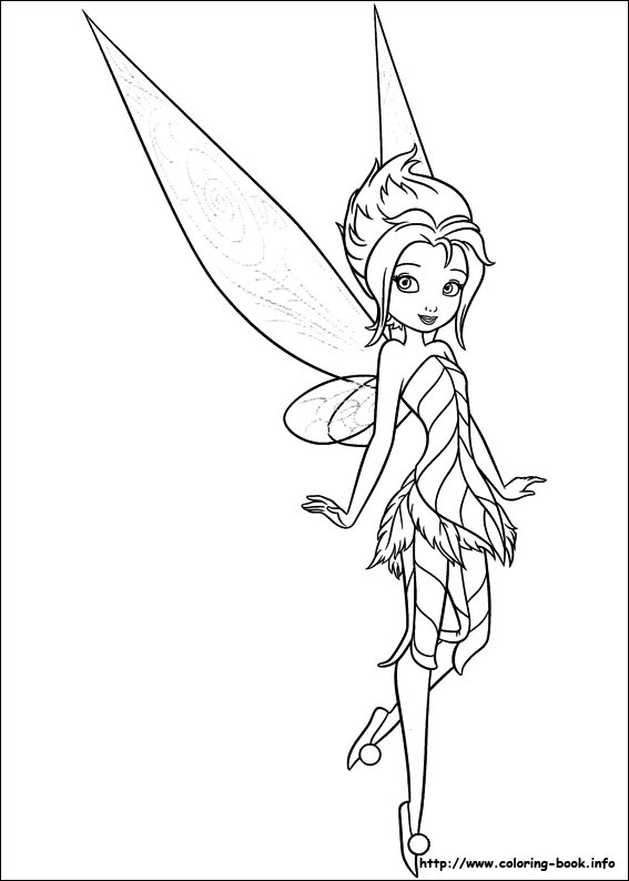 tinkerbell coloring page,printable,coloring pages