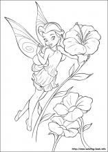 tinkerbell coloring pages 14,printable,coloring pages