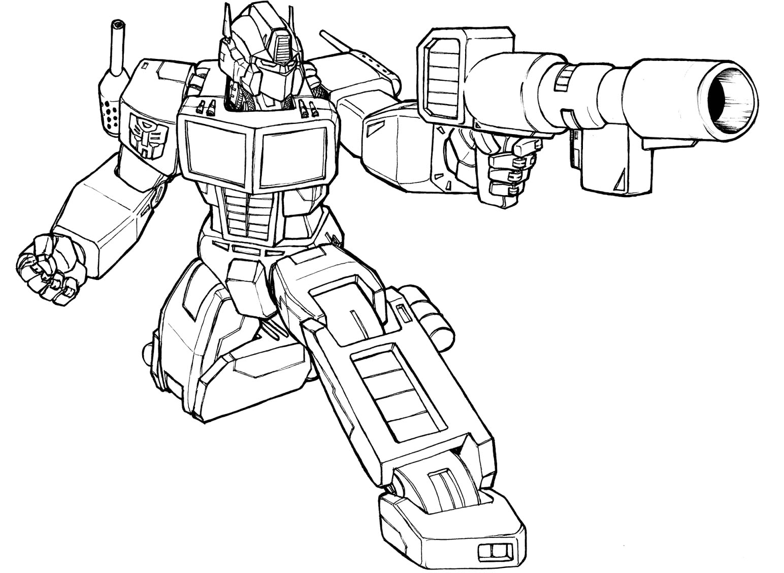 14 Transformers Coloring Pages Printable