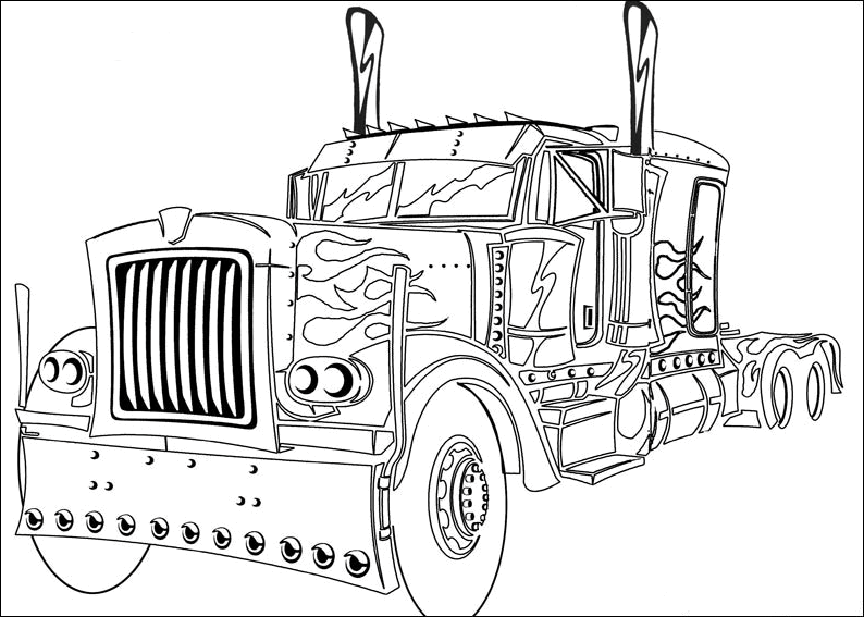 14 transformers coloring pages printable - Print Color Craft