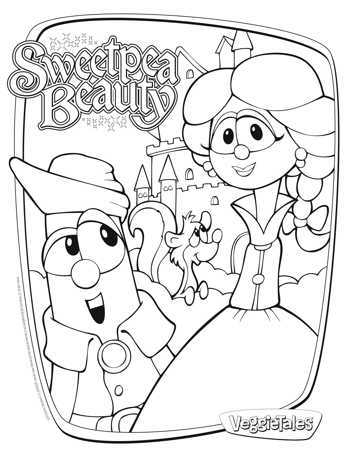 coloring pictures veggie-tales,printable,coloring pages