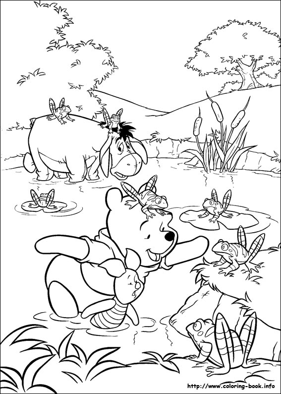 winnie-the-pooh coloring pages 13,printable,coloring pages