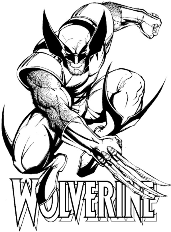 printable wolverine coloring pages,printable,coloring pages
