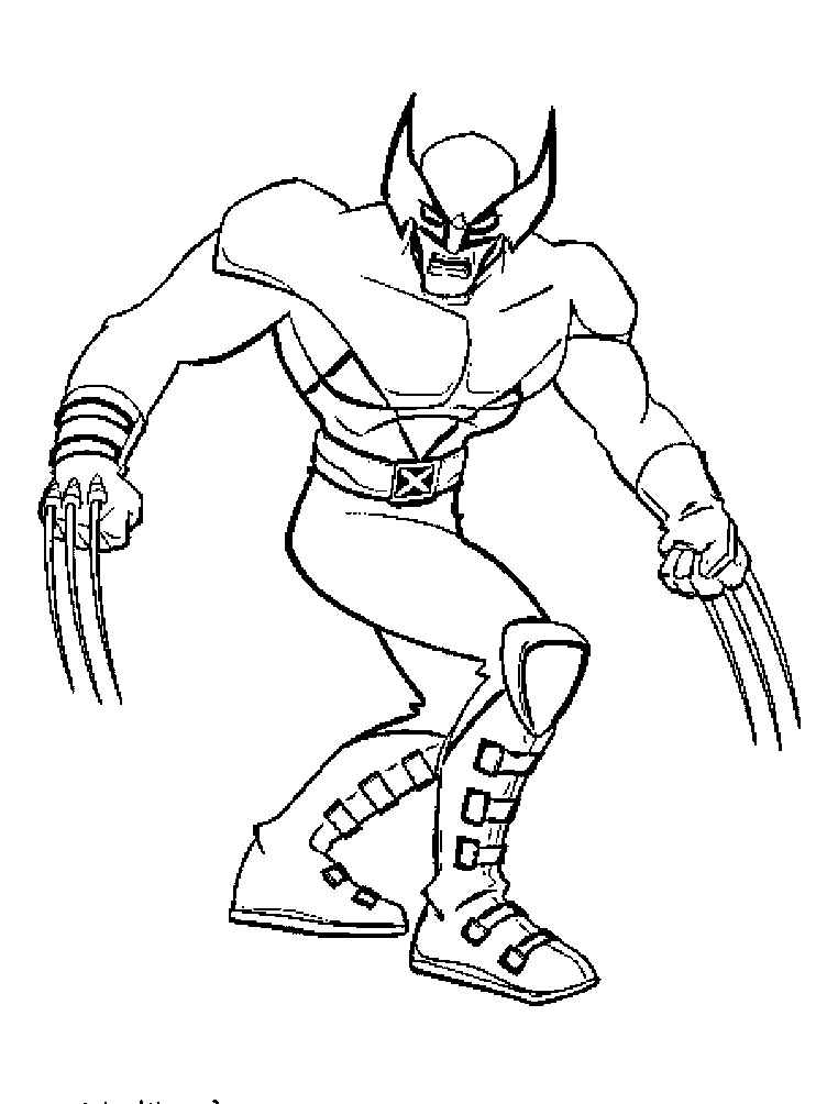 wolverine coloring pages printable,printable,coloring pages