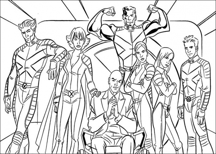 X Men Coloring Pagesprintablecoloring Pages