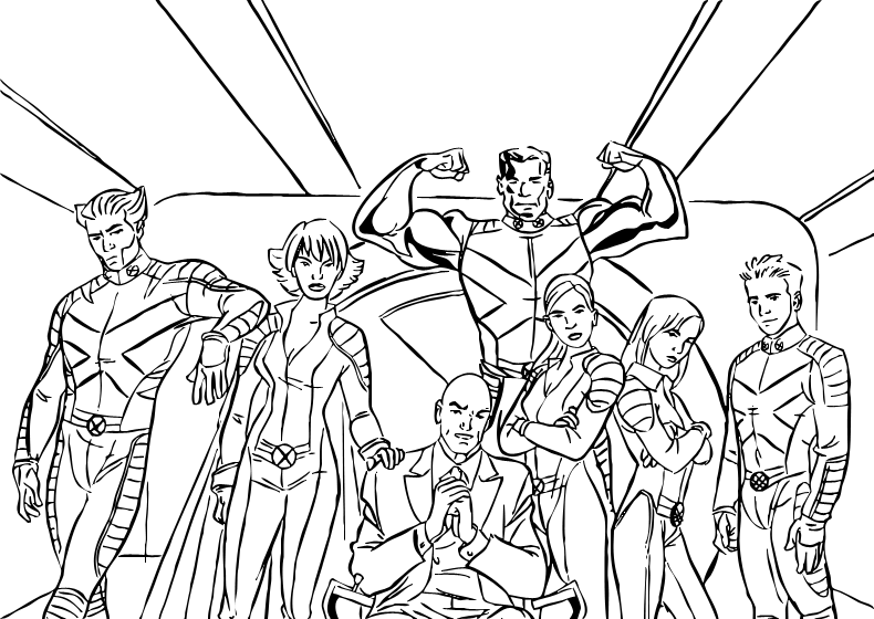 x-men coloring pages for kids,printable,coloring pages