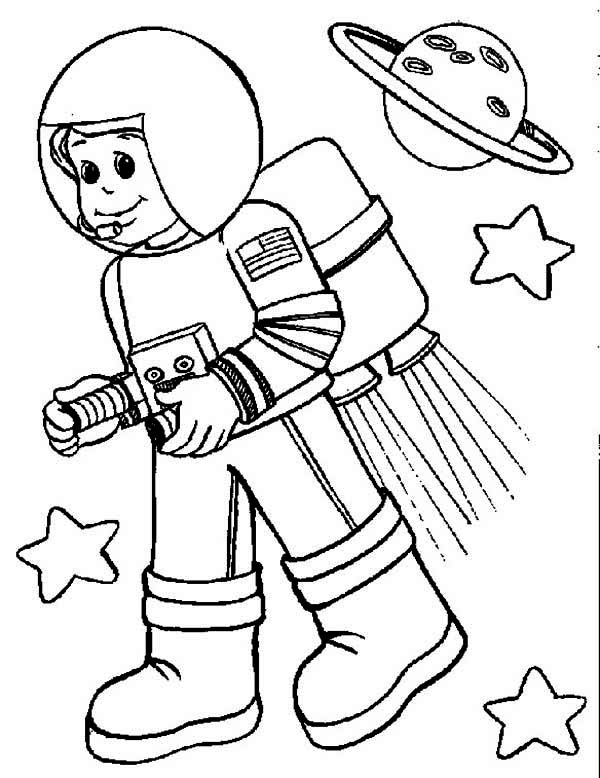 astronaut coloring page,printable,coloring pages