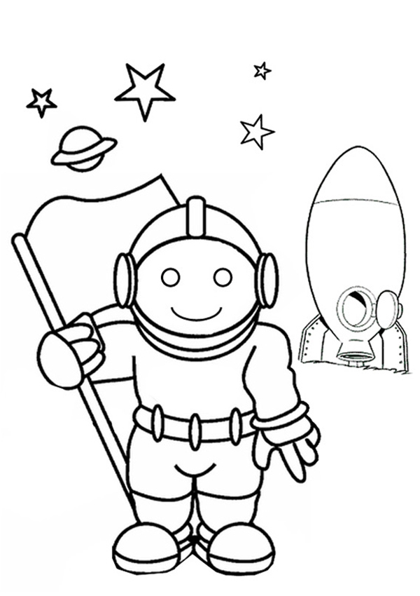 astronaut coloring page to print,printable,coloring pages