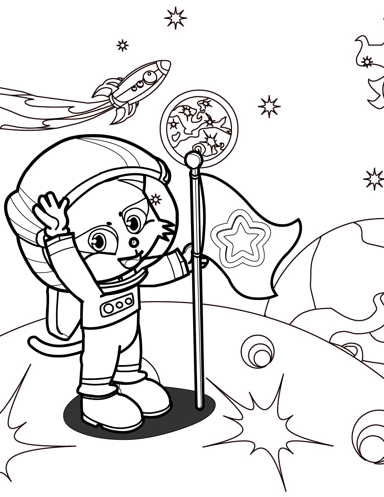 astronaut coloring pages 11,printable,coloring pages