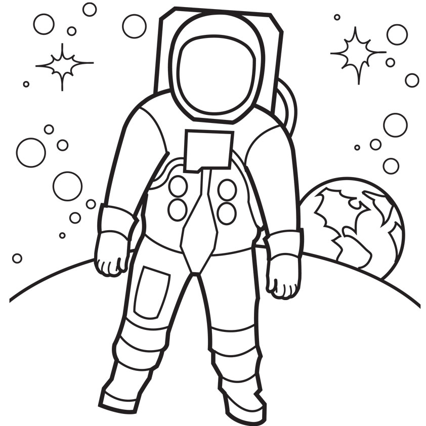 coloring pages of astronaut,printable,coloring pages