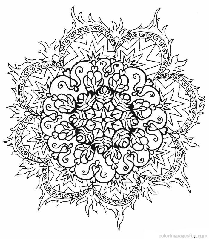 beautiful-abstract coloring page,printable,coloring pages