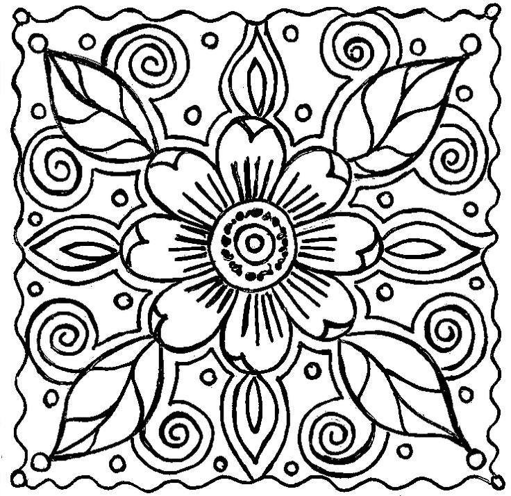 beautiful-abstract coloring pages for kids,printable,coloring pages