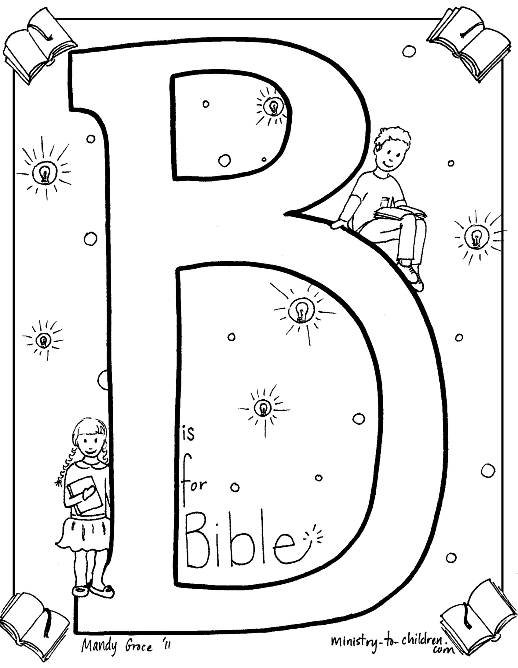 bible crafts coloring pages - photo#10
