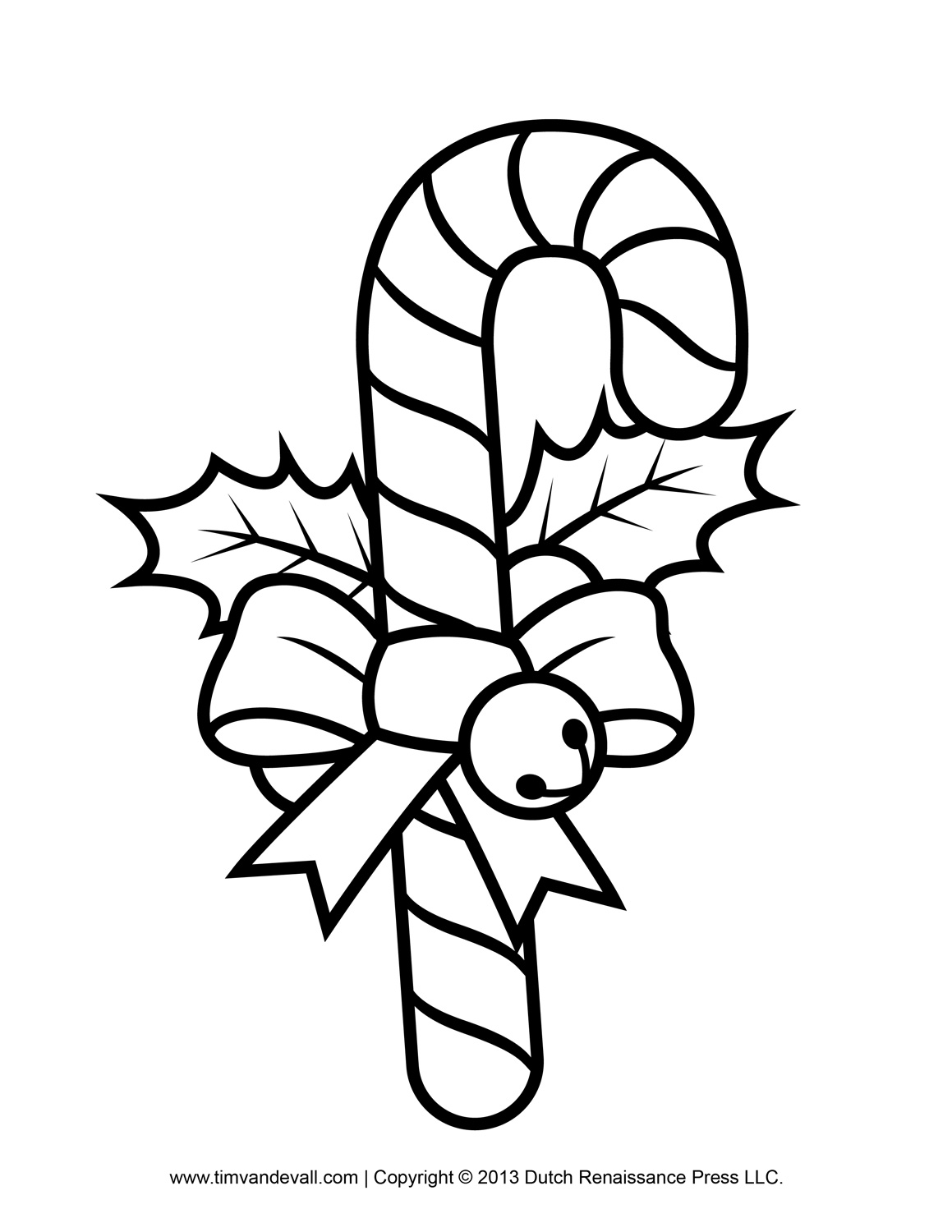 candy-cane coloring page,printable,coloring pages