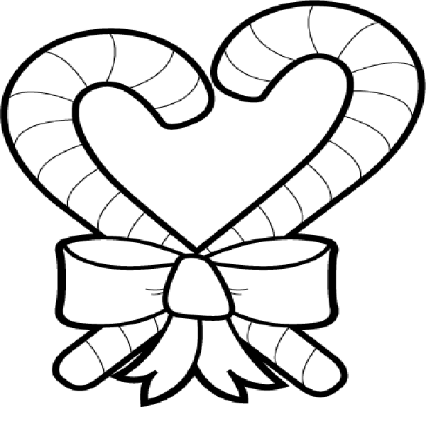 15 Candy Cane Coloring Pages Printable