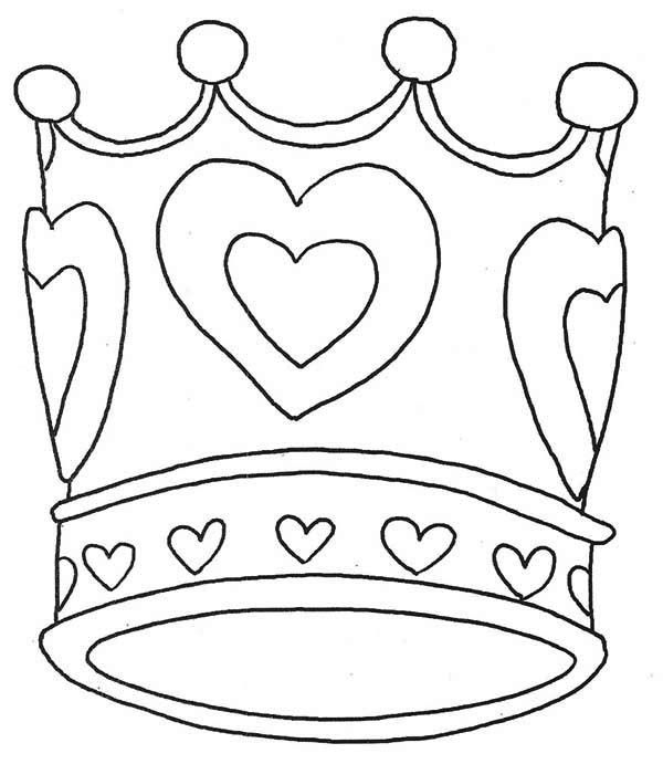 crown coloring page,printable,coloring pages