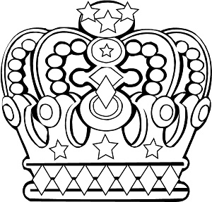 crown coloring page to print,printable,coloring pages