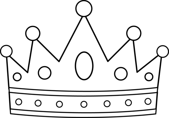 It's just a graphic of Crown Coloring Pages Printable inside crown emoji
