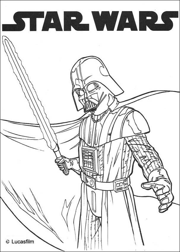 13 darth vader coloring pages