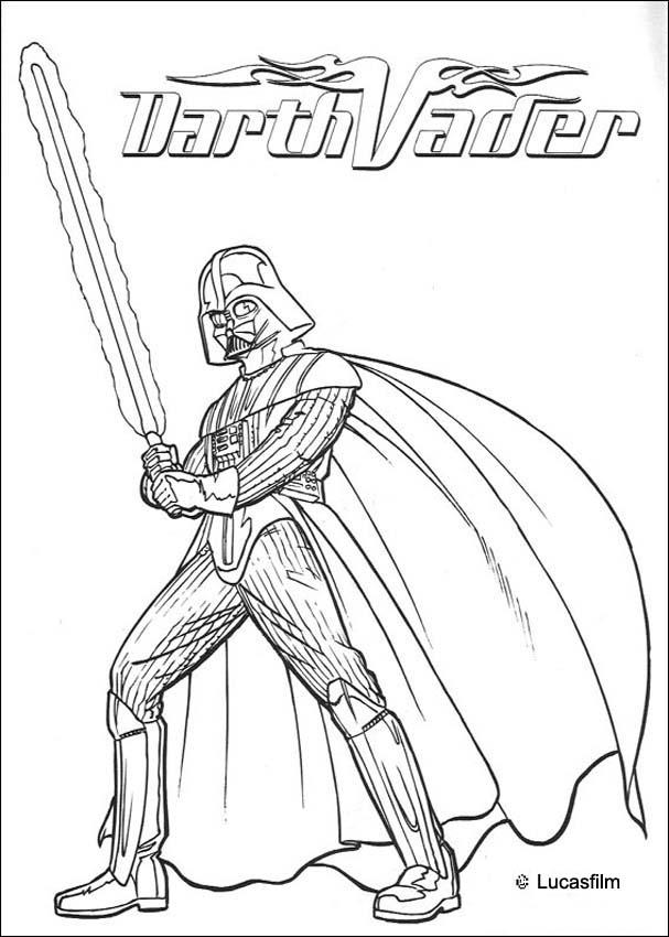 darth-vader coloring page,printable,coloring pages