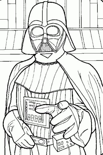 kids coloring pages darth-vader,printable,coloring pages