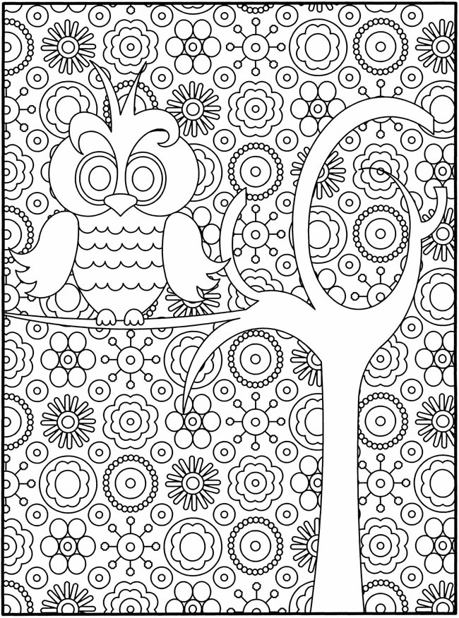 16 printable difficult coloring pages | Print Color Craft