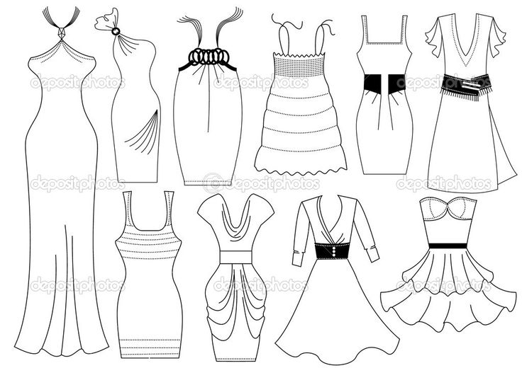 Fashion Coloring Pages For Girls Printable - Coloring Home | 520x736