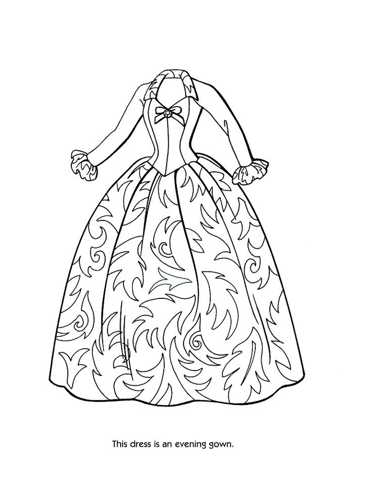 fashion-design coloring page to print,printable,coloring pages