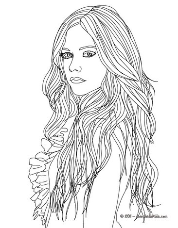 kids coloring pages fashion-design,printable,coloring pages