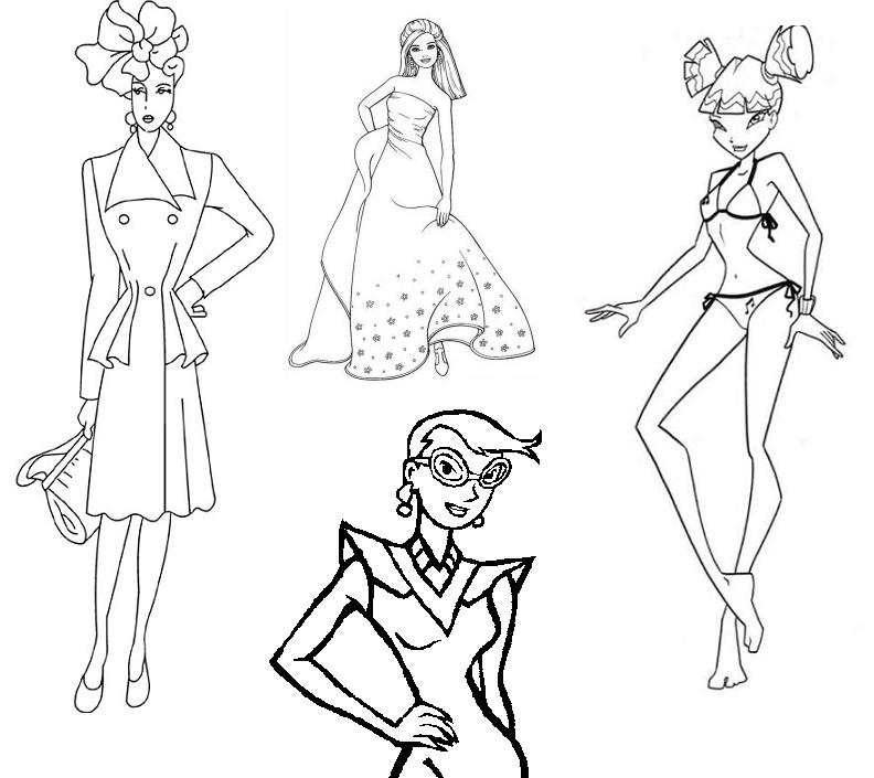 printable pictures of fashion-design page,printable,coloring pages