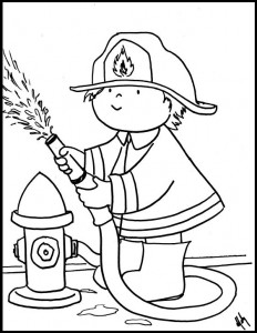 11 printable firefighter coloring pages | Print Color Craft