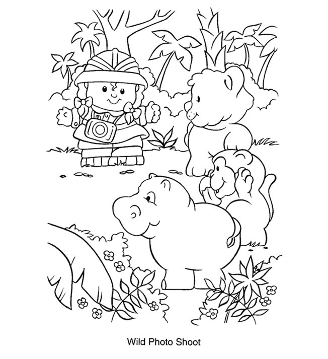 fisher-price coloring page,printable,coloring pages