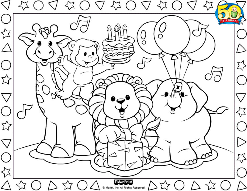 fisher-price coloring pages,printable,coloring pages