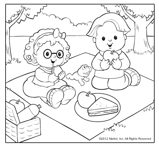 fisher-price coloring pages 12,printable,coloring pages