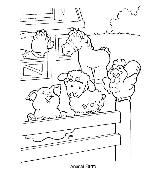 kids coloring pages fisher-price,printable,coloring pages