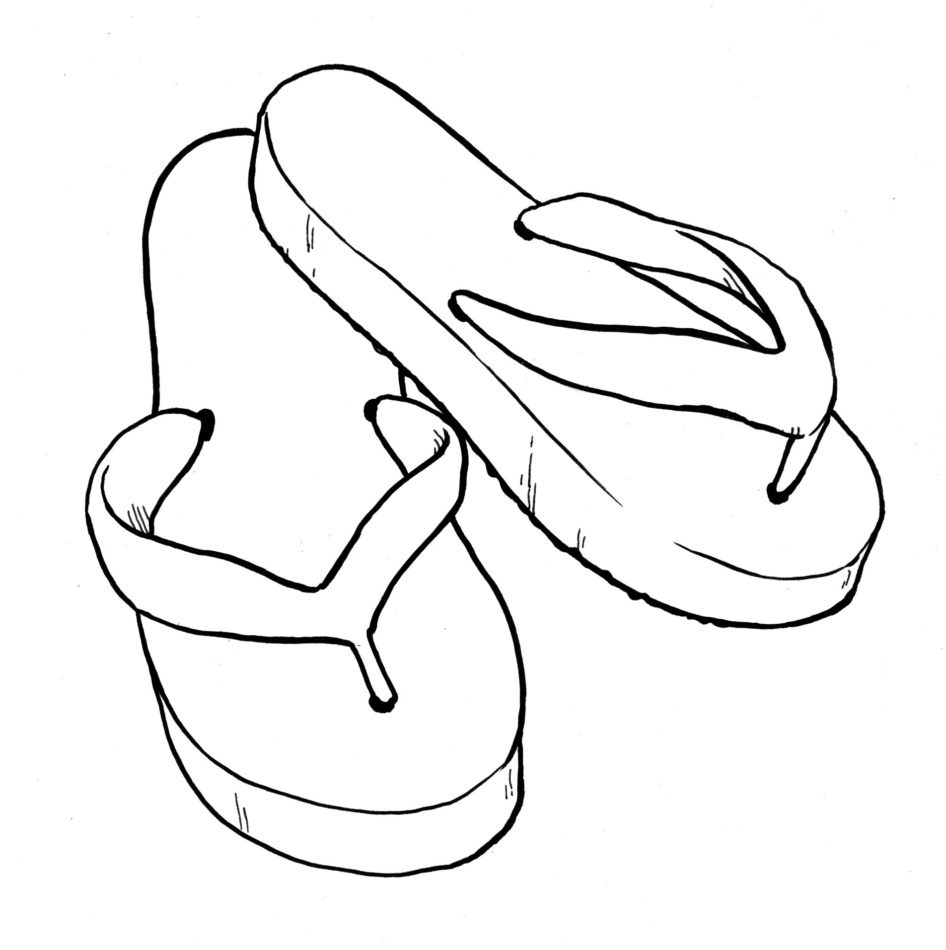 printable flip-flop coloring pages,printable,coloring pages