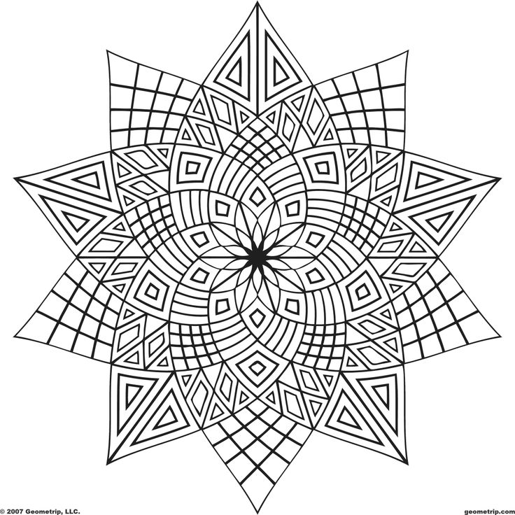 geometric coloring pages,printable,coloring pages