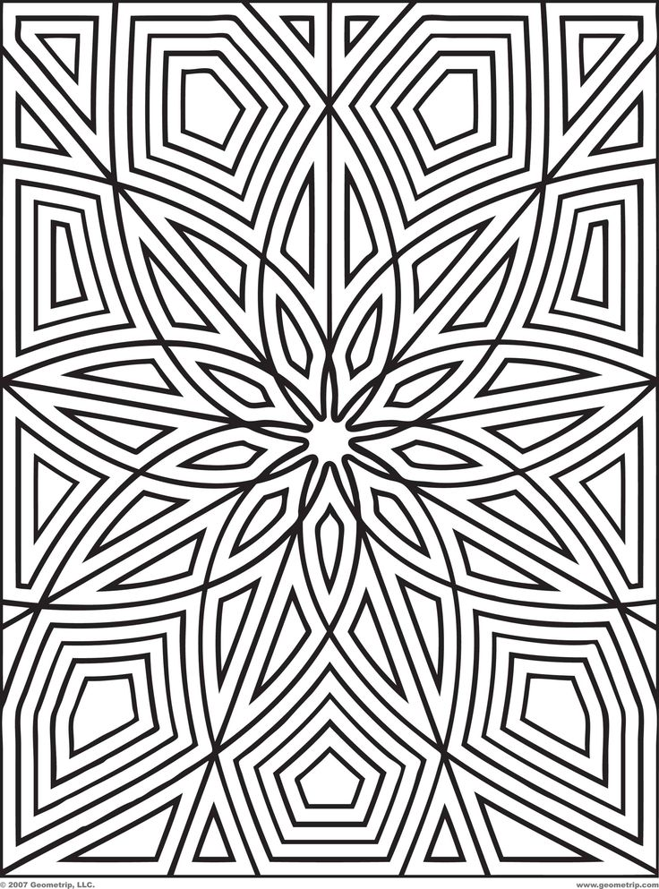 geometric coloring pages 12,printable,coloring pages