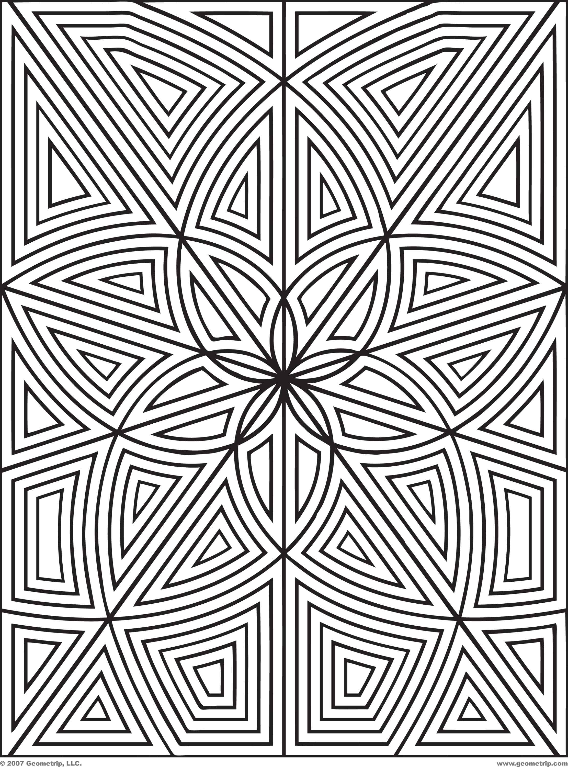 geometric coloring pages 15,printable,coloring pages