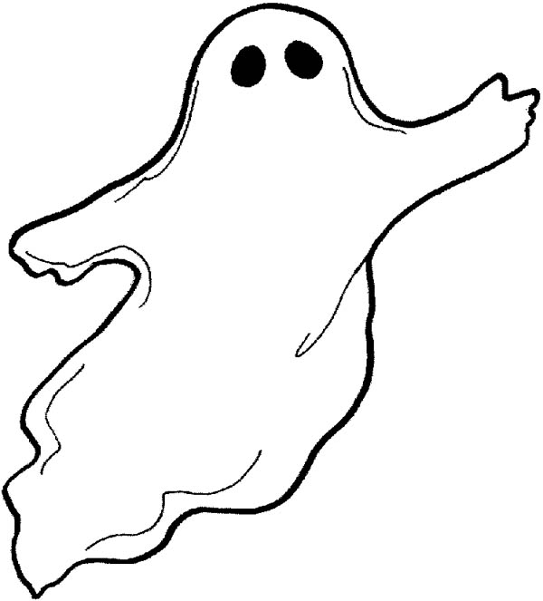 coloring pages on ghosts reading - photo#30