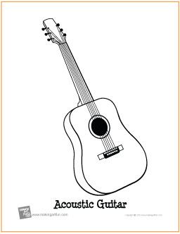 guitar coloring pages 13,printable,coloring pages