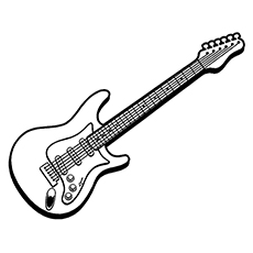 guitar coloring pages printable,printable,coloring pages
