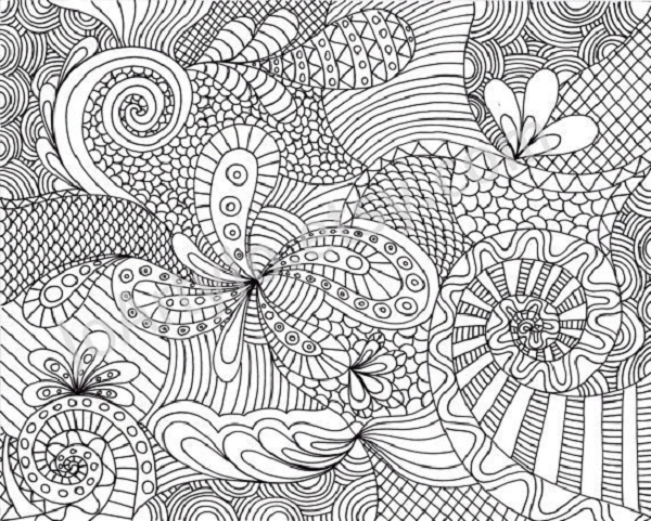 Hard Coloring Pages To Print Coloring Pages