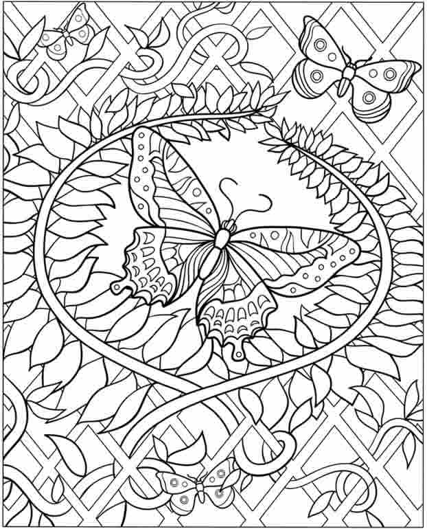 hard coloring page to print,printable,coloring pages