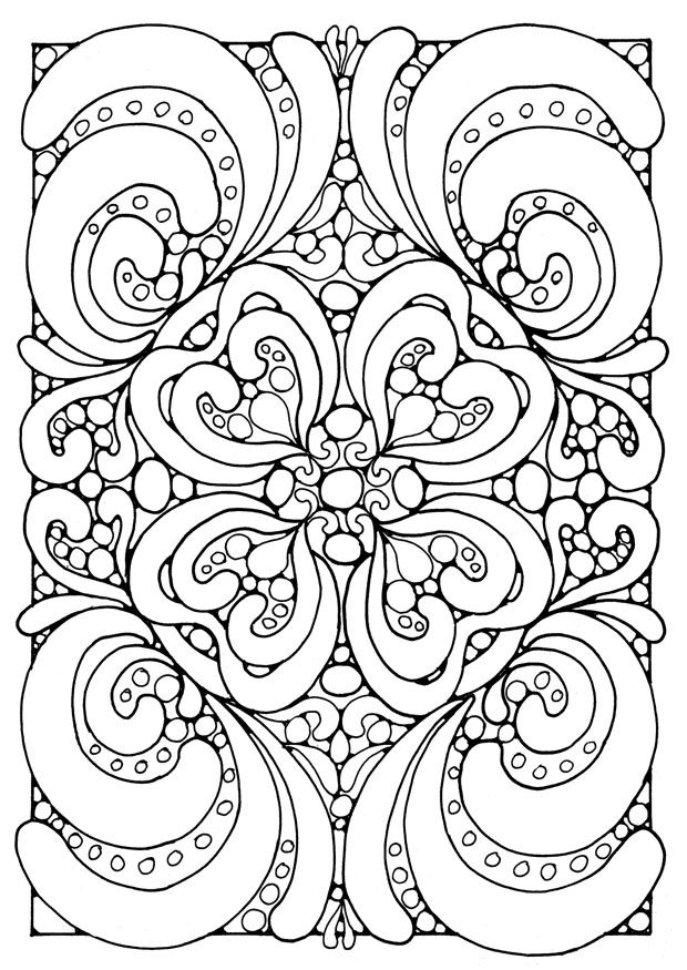 difficult coloring pages printable dalarcon com - Difficult Coloring Pages