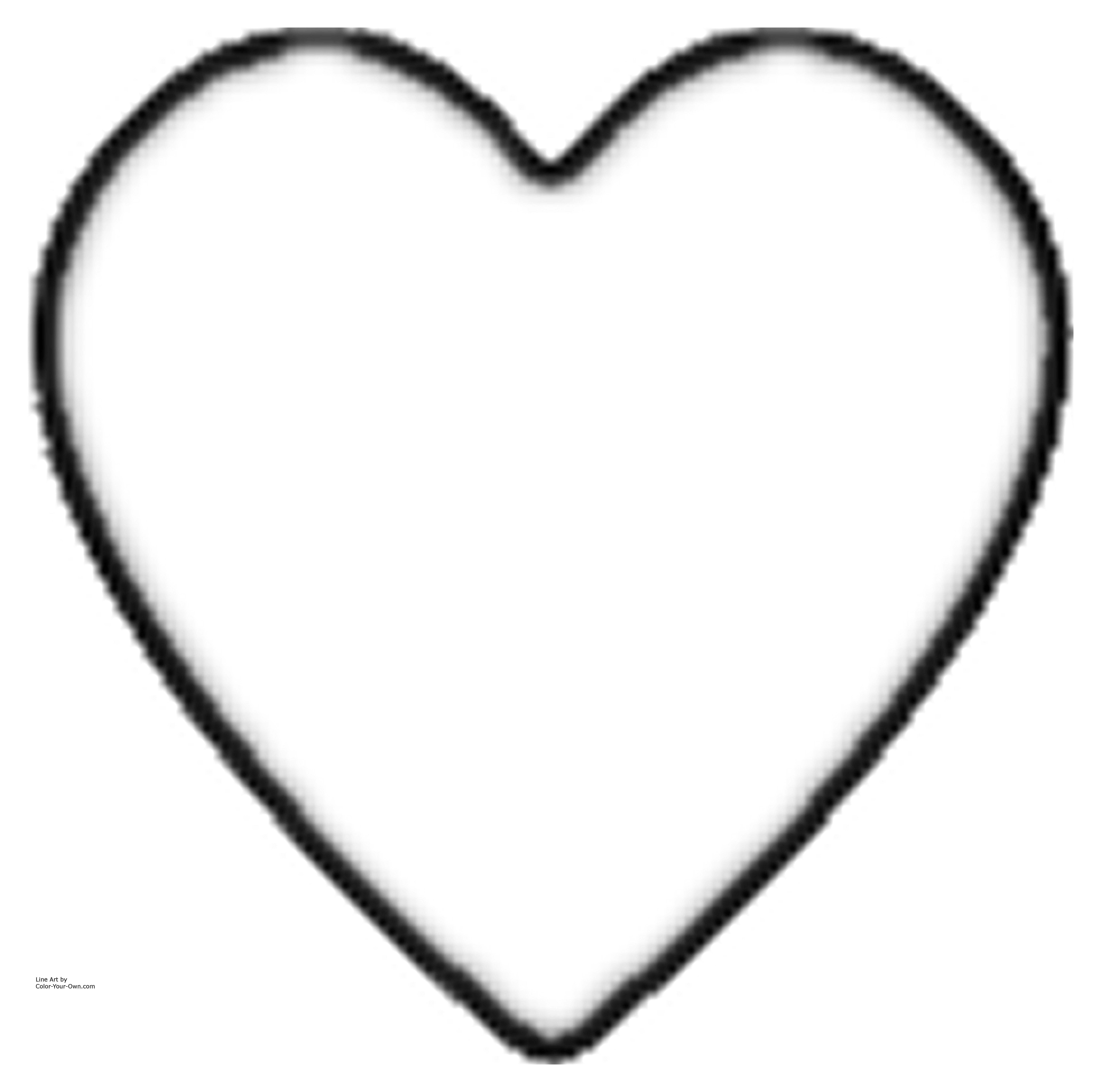 heart coloring page,printable,coloring pages