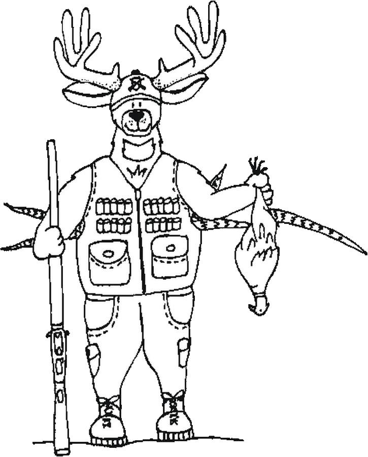 hunting coloring pages,printable,coloring pages