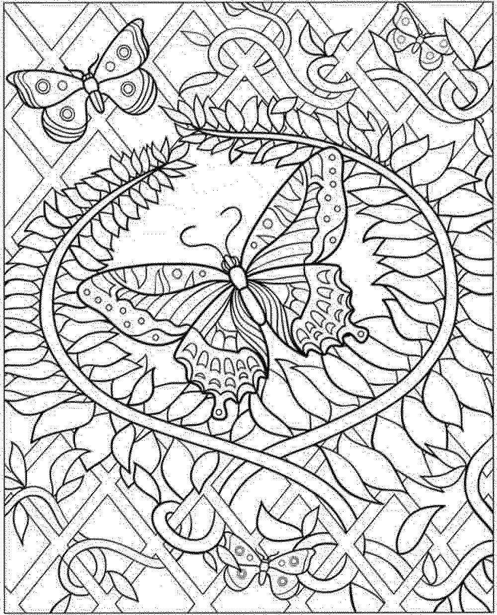 16 intricate coloring pages for kids print color craft
