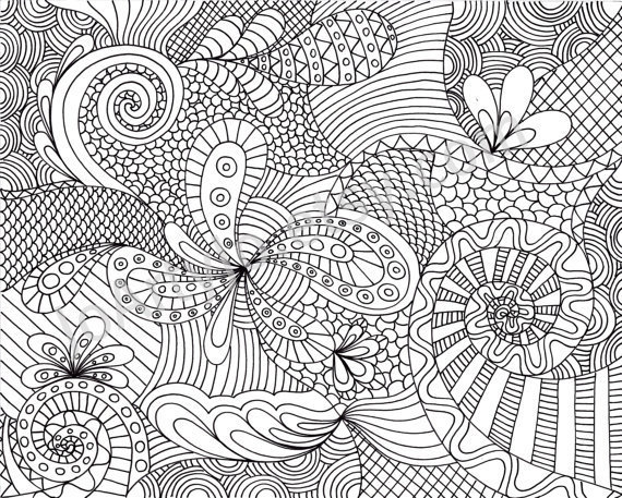 printable intricate coloring pages - photo#32